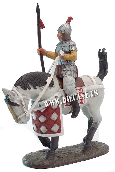 Caballero con armadura, Siglo II, China, 1:30, Del Prado