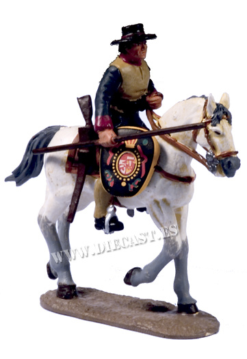 Caballero de Nueva España, Siglo XVIII, 1:30, Del Prado