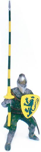 Caballero en Torneo, León, 1:18, Blue Box