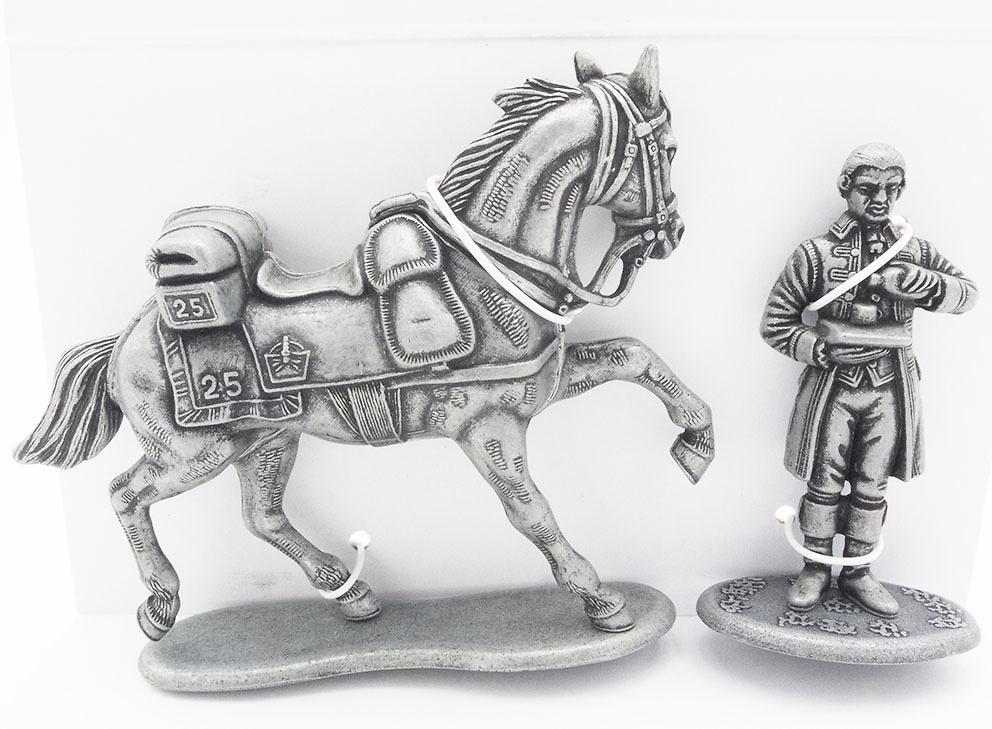 Caballo del Sargento del 25 Regimiento de Dragones de Línea, Ayudante de Cámara de las Casas Imperiales, 1:24, Atlas Editions