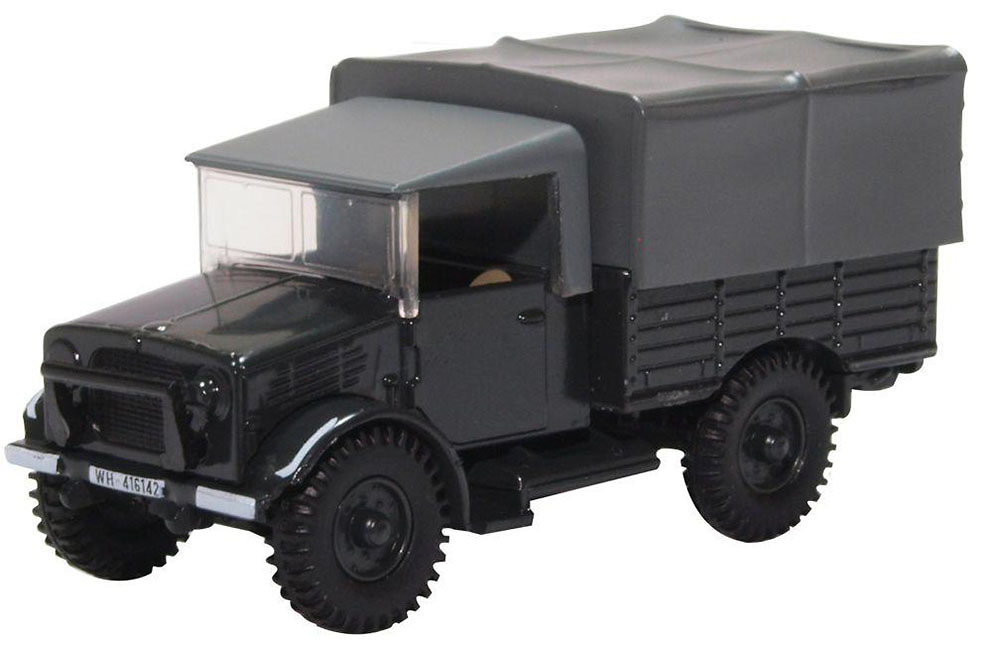 Camión Bedford MWD, Wehrmacht Infantry Division 215, 1:76, Oxford