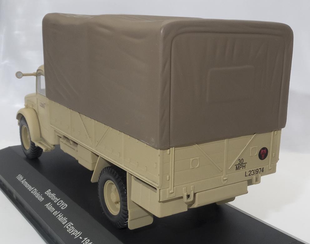 Camión Bedford OYD, 10th Armored Division, Alam el Halfa, Egipto, 1942, 1:43, Atlas
