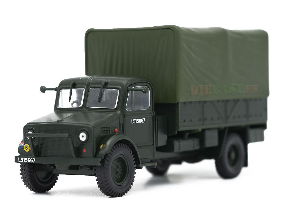 Camión Bedford OYD, Gran Bretaña, 2ª Guerra Mundial, 1:43, Atlas