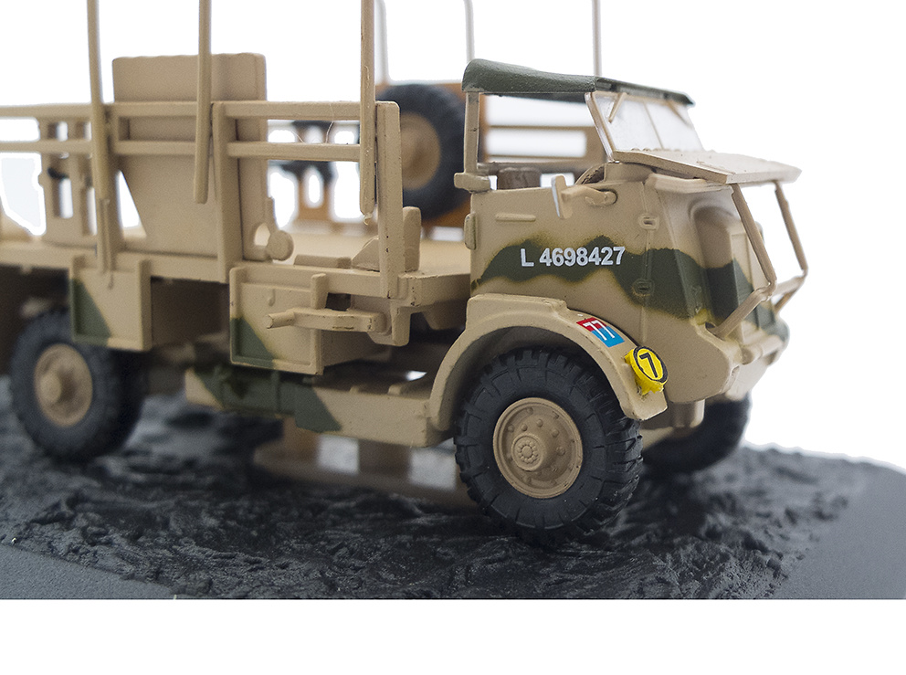 Camión Bedford QL + 6 Pdr. AT Gun, 1st Armoured Division, 8th Army, Egipto, 1941, 1:72, Altaya