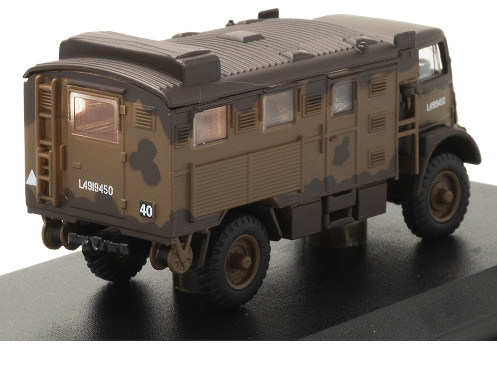 Camión Bedford QLR, 1st Infantry Division, Reino Unido, 1943, 1:76, Oxford