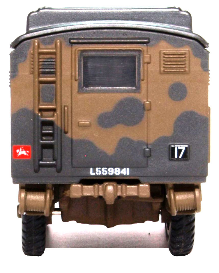 Camión Bedford QLR, 8 Corps HQ, Reino Unido, 1944, 1:76, Oxford