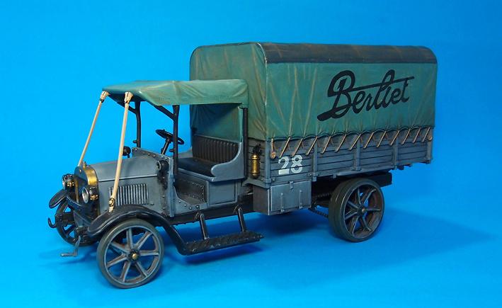 Camión Berliet CBA, Francia, 1916, 1:30, John Jenkins