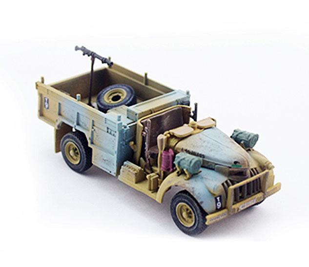 Camión Chevrolet WB 30 cwt 4x2, Grupo del Desierto de Largo Alcance (LRDG), Ejército Británcio, Norte de Africa, 1942, 1:72, PMA