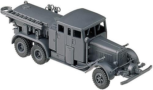 Camión HENSCHEL TS 2,5A, BOMBEROS AEROPUERTO, 1:87, Minitanks