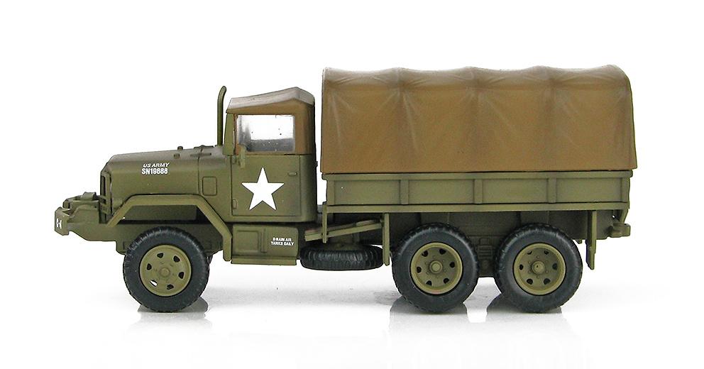 Camión M35 2.5 ton Cargo, US Army, Guerra de Vietnam, 1968, 1:72, Hobby Master