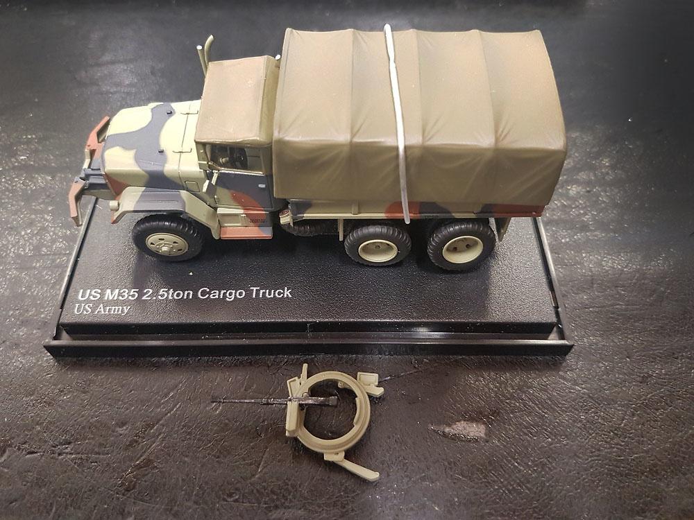 Camión M35 2.5 ton Cargo Truck, US Army, Guerra de Vietnam, 1:72, Hobby Master