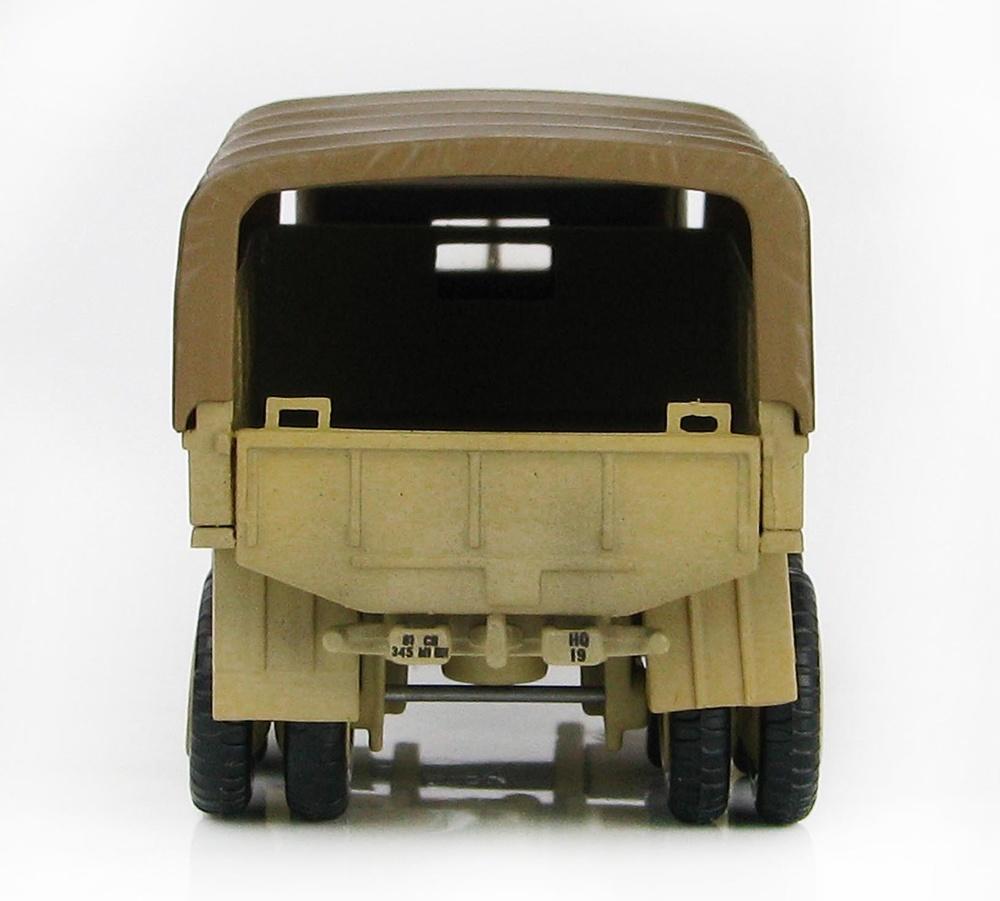 Camión M35 2.5 ton Cargo Truck, US Army, Operación Tormenta del Desierto, Bagdad, Irak, 1:72, Hobby Master