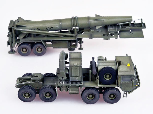 Camión M983 Hemtt tractor con Misil Pershing II, U.S. Army, 1:72, Modelcollect