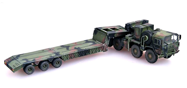 Camión Man KAT1M1014 con semi-trailer M870A1, Alemania, 1:72, Modelcollect