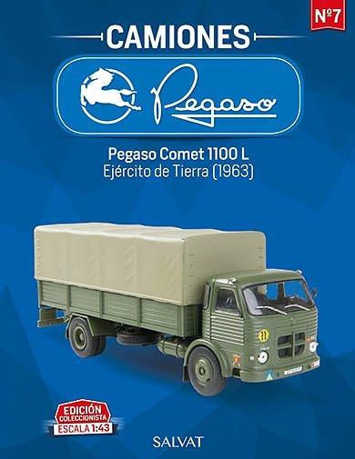 Camión Pegaso Comet 1100L, Ejercito de Tierra, 1963, 1/43, Salvat