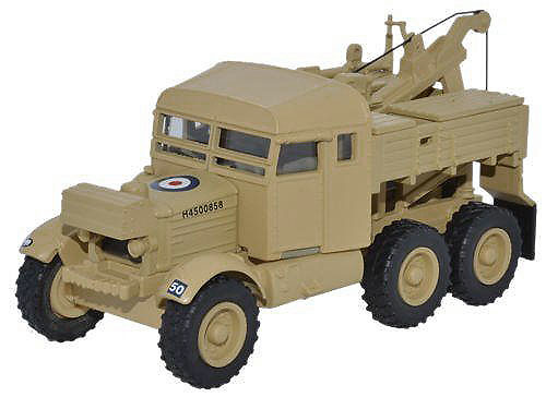 Camión Scammell Pioneer, 1st Armoured Divison, RAF, Segunda Guerra Mundial, 1:76, Oxford
