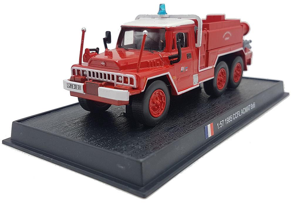 Camión de Bomberos CCFLACMAT 6x6, 1985, 1:57, Atlas Editions