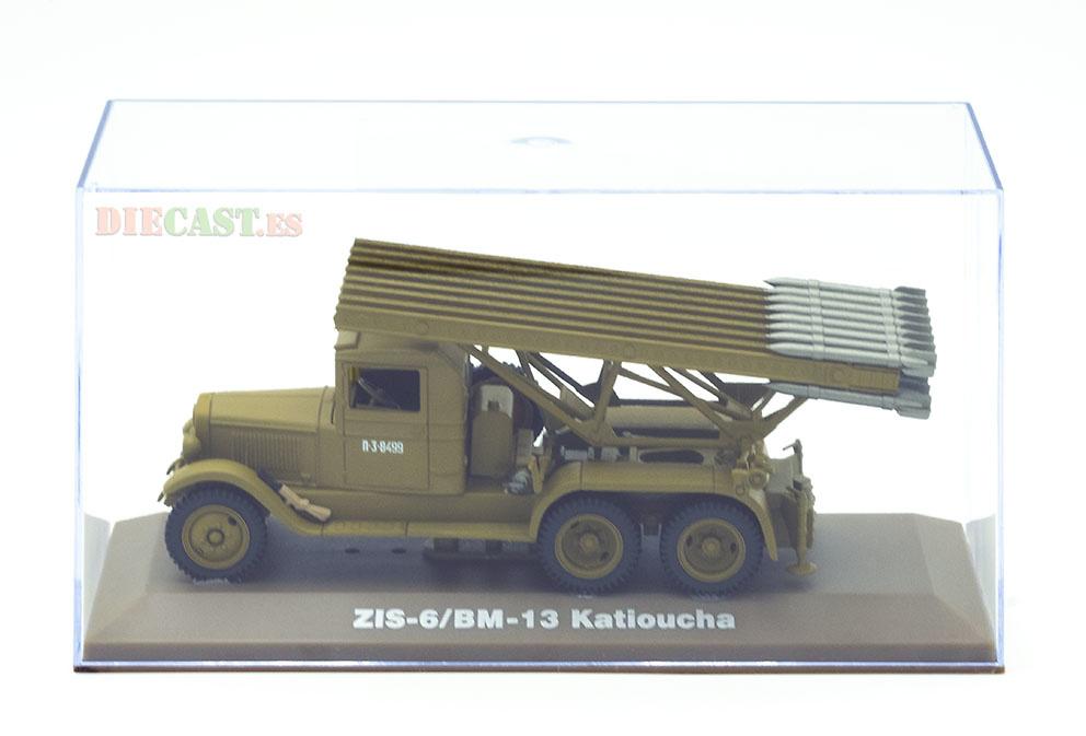 Camión lanza cohetes ZIS-6/BM-13 Katioucha, URSS, 1:43, Atlas