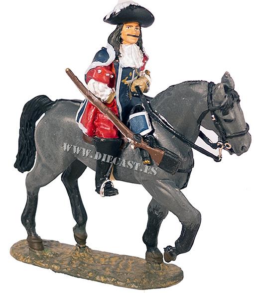 Capitán de Mosqueteros, Francia, 1670, 1:30, Del Prado
