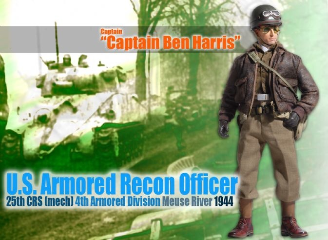 Captain Ben Harris, U.S. Armored Recon Officer, 1:6, Dragon