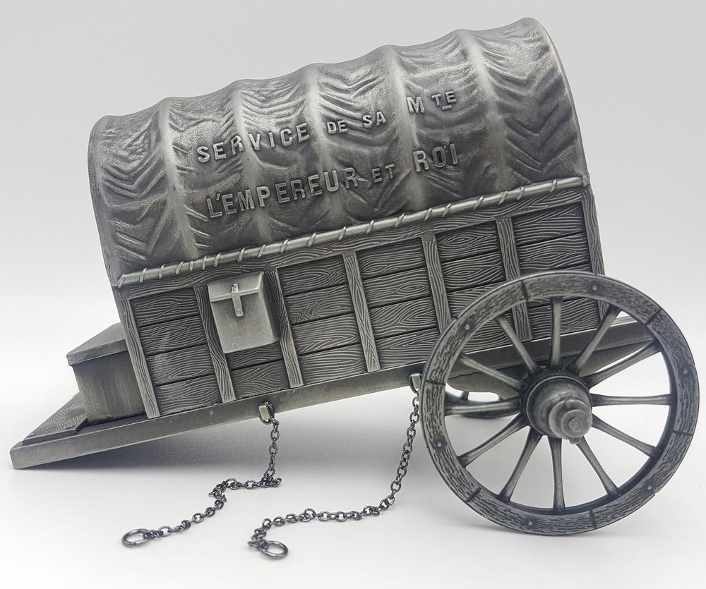 Carro de bagaje de Napoleón, 1:24, Atlas Editions