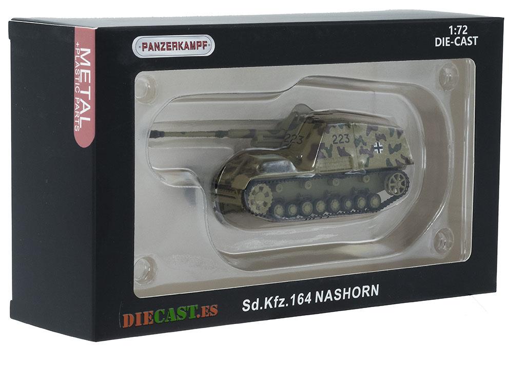 Cazacarros Sd.Kfz. 164 Nashorn, Alemania, 1943, 1:72, Panzerkampf
