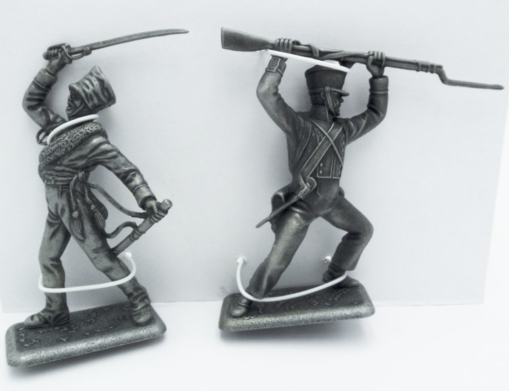 Cazador Silesiano, Fusilero de Infantería de Línea Francés, 1:24, Atlas Editions