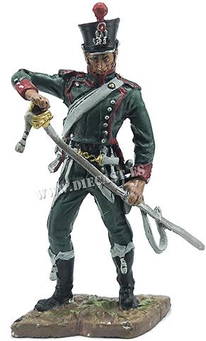 Cazador del 23º Regimiento de Cazadores a Caballo de la Guardia Imperial, 1812, 1:32, Hobby & Work