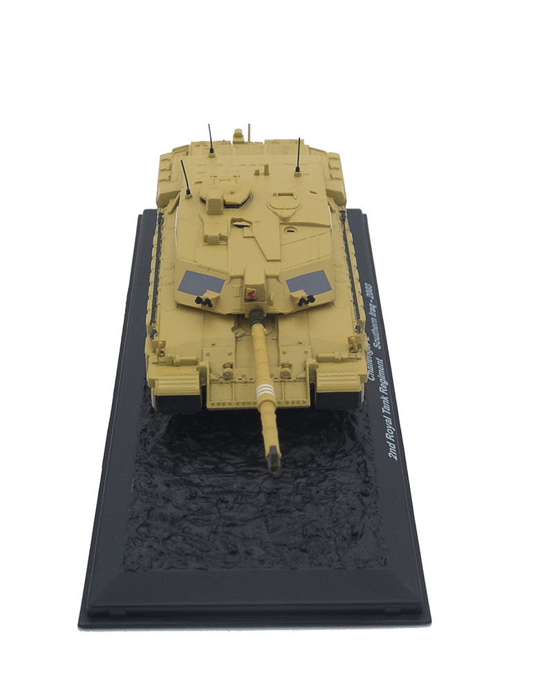 Challenger 2, 2nd Royal Tank Regiment, Sur de Irak, 2003, 1:72, Altaya