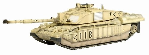 Challenger 2 HQ Squadron Command Troop Royal Scots Dragoon Guards, 7th Armored Brigade Iraq 2003, 1:72, Dragon Armor