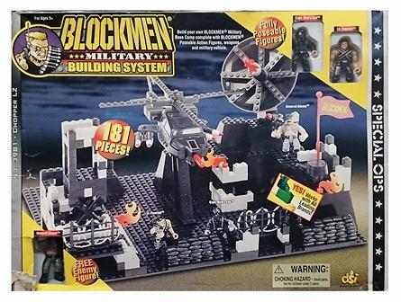 Chopper LZ, Blockmen