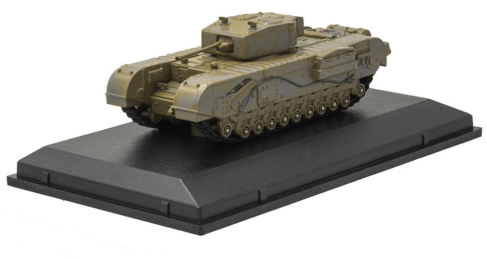 Churchill Mk III, Tanque Pesado, 142 RAC, Túnez, 1943, 1:76, Oxford