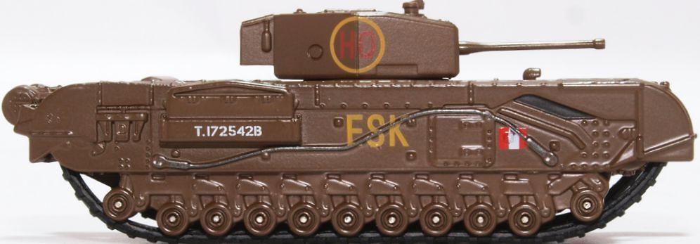 Churchill Mk III, Tanque Pesado, 6th Guards Brigade, Reino Unido, 1943, 1:76, Oxford