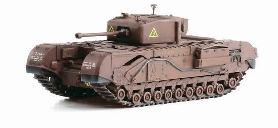 Churchill Mk. IV, A' Sqd. North Irish Horse, Tunicia, 1943, 1:72, Dragon Armor