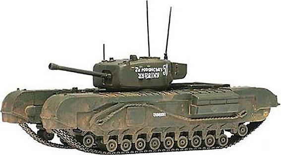 Churchill MkIV, Soviet Army, 1:50, Corgi