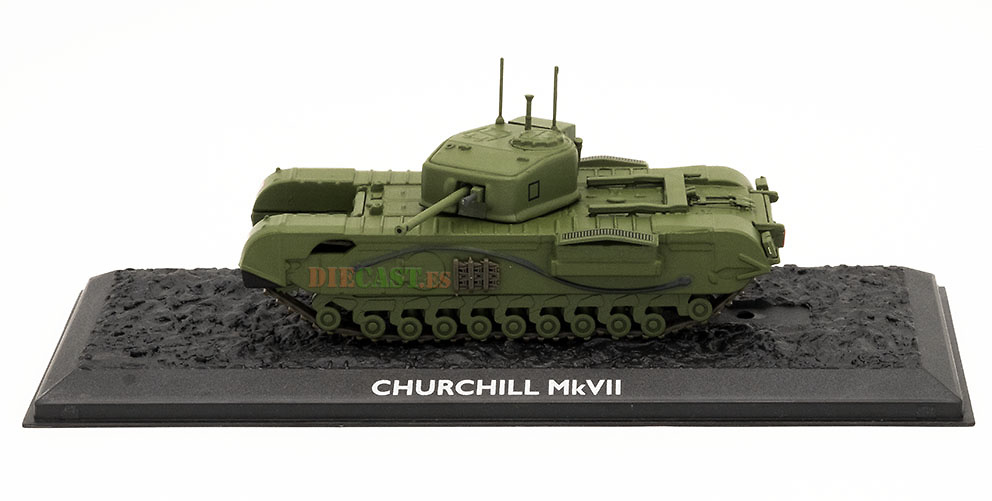 Churchill MkVII, Gran Bretaña, 1941/52, 1:72, Atlas Editions
