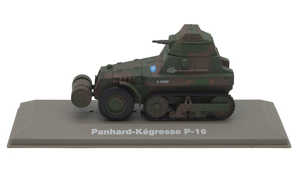 Citroën Panhard-KégresseTipo P16, Francia, 2ª Guerra Mundial, 1:43, Atlas