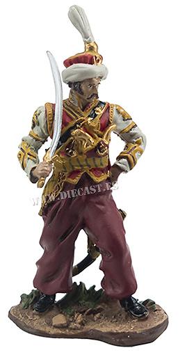 Comandante del Escuadrón de la Compañía de Mamelucosa de la Guardia Imperial, 1809, 1:32, Hobby & Work
