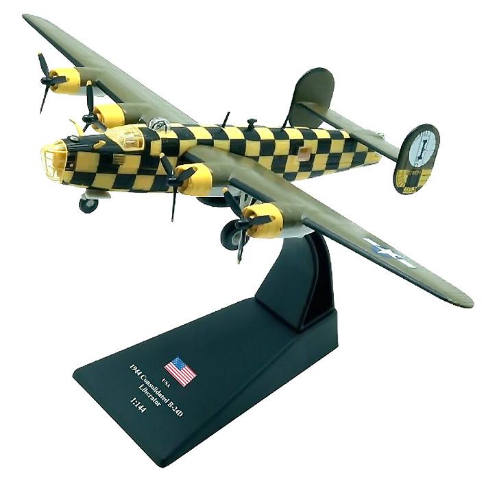Consolidated B-24D Liberator, 1944, 1:144, Amercom