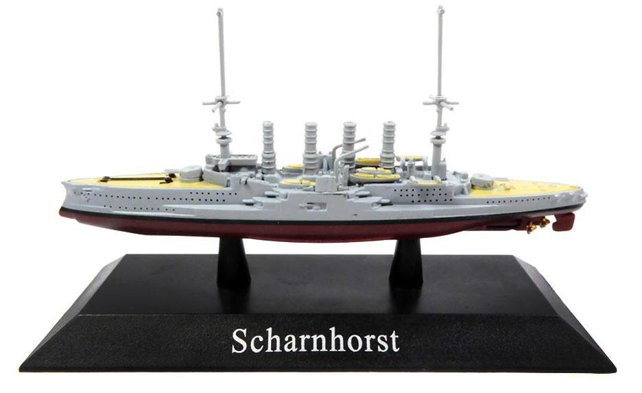 Crucero Acorazado Scharnhorst, Kriegsmarine, 1907, 1:1250, DeAgostini