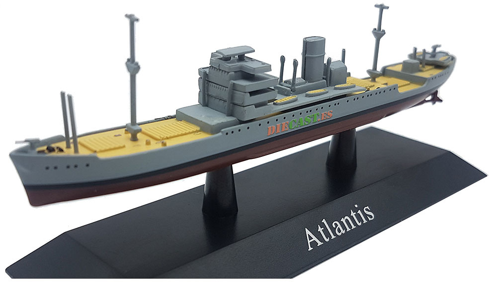 Crucero Auxiliar Atlantis, Kriegsmarine, 1940, 1:1250, DeAgostini