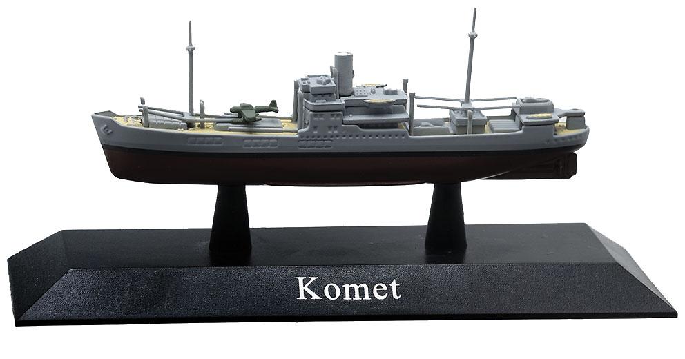 Crucero Auxiliar Komet, Kriegsmarine, 1940, 1:1250, DeAgostini