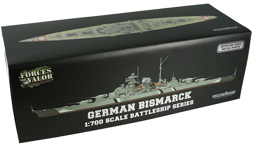 Crucero Bismarck, Kriegsmarine, 1939-1941, 1:700, Forces of Valor