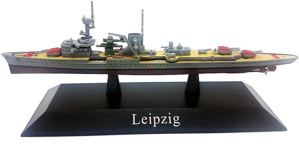 Crucero Ligero Leipzig, Kriegsmarine, 1928, 1:1250, DeAgostini