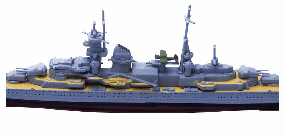 Crucero Pesado Blücher, Kriegsmarine, 1939, 1:1250, DeAgostini