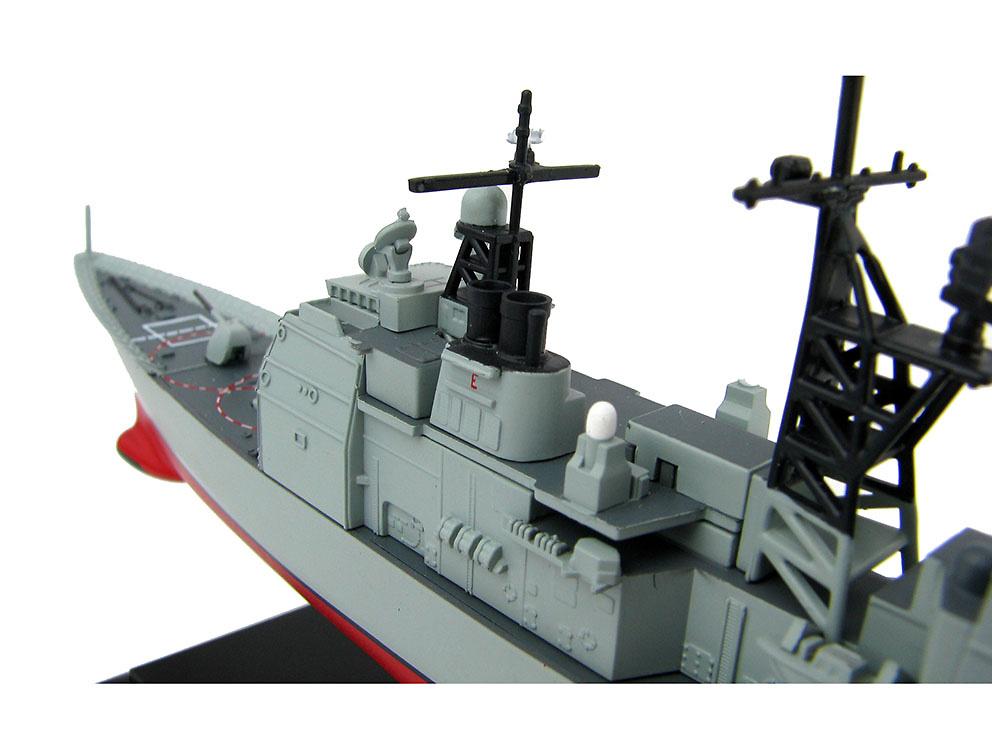 Crucero USS Ticonderoga (CG-47), Crucero de Misiles Guiados, US Navy, años 80, 1:700, Hobby Master
