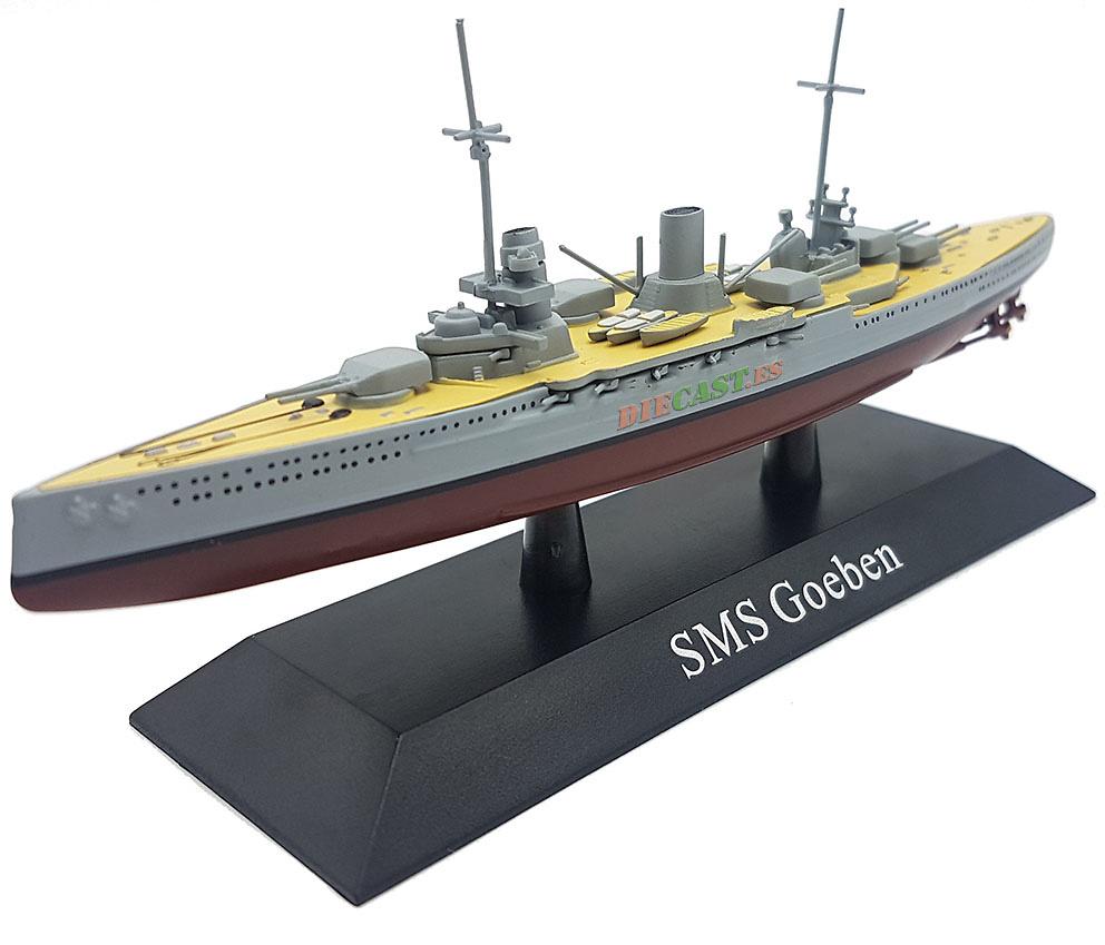 Crucero de Batalla Goeben, Kaiserliche Marine, 1912, 1:1250, DeAgostini