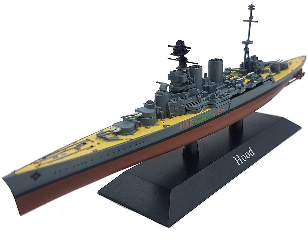 Crucero de Batalla Hood, Marina Real Británica, 1920, 1:1250, DeAgostini