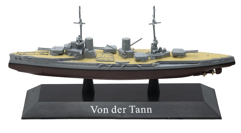 Crucero de Batalla Von der Tann, Armada Imperial Alemana, 1:1250, DeAgostini