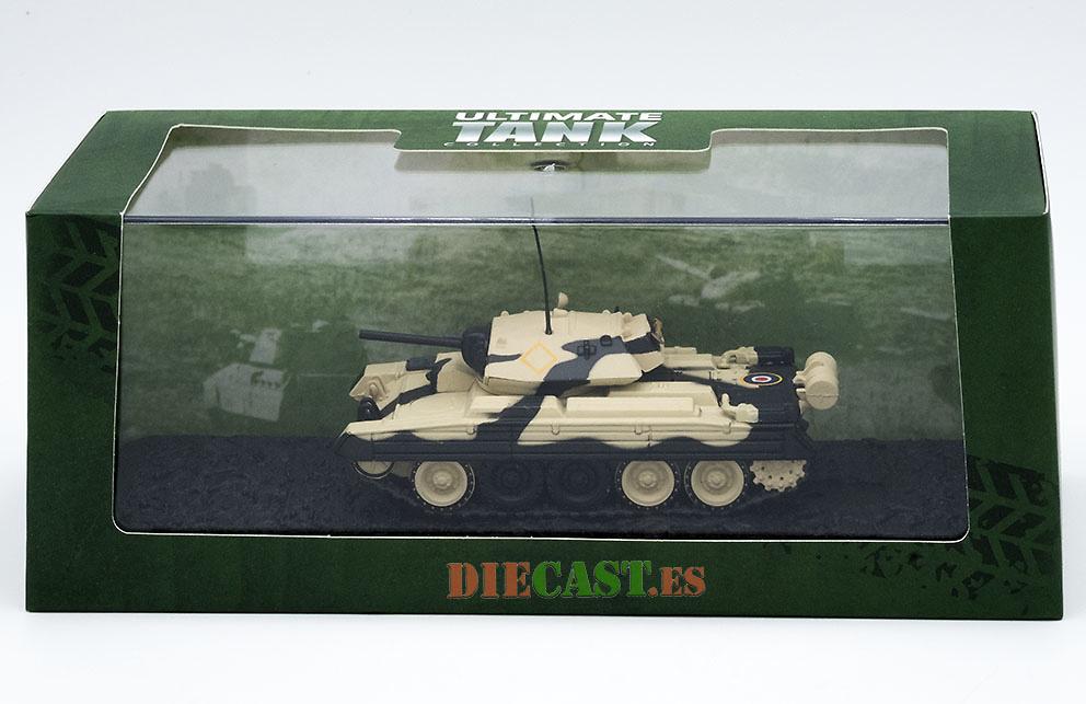Atlas Ultimate Tank Collection CRUISER MkVIA CRUSADER II Scala 1:72 #G114